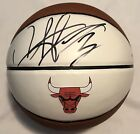 Dennis Rodman Signed Autographed Chicago Bulls Logo Basketball The Worm Psa Dna