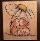 PENNY BLACK RUBBER STAMPS MICE SQUEEZE TIL I SQUEAK NEW wood STAMP