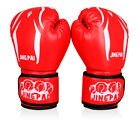 Boxing Gloves kick Boxing Gloves PU Leather Half Mitts Mitten Muay Thai karate t