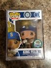 Funko Pop! MLB King Felix #01 Safeco Field LE1000 Rare Sticker Error W Pop Stack