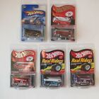 Lot of 6 Hot Wheels VW Customized Drag Buss Red Line ClubT Hunt Real Riders