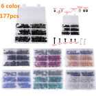 177PCS  Fairing Bolts Kit Fastener Clips Screws For Honda VTX 1300 C R S RETRO