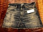 Premium Vintage Citizens of humanity Cut off miniskirt Size 28 MAKE OFFER