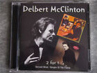 Delbert McClinton Second Wind / Keeper Of The Flame 2 FOR 1 CD RARE OOP
