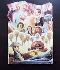 Vintage 1988 New HOLLYWOOD a star was born Fold Out Birthday Greeting Card