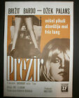 CONTEMPT aka LA MEMPRIS 1963 Bardot Jean Luc Godard YUGOSLAVIAN Movie Poster