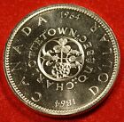 1964 CANADA DOLLAR UNC 80% SILVER GREAT COLLECTOR COIN GIFT CAD16