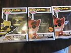 Funko Pop Crash Bandicoot And Dr Neo Cortex Chase Includes 3 Items