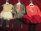 2 Piece Girl's Party Sets 3T  Holiday, Casual, Whimsical NWT