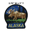 National Park Badge Patch Alaska Travel State Park Embroidered Iron Sew on