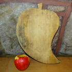 Vintage Wooden Cutting Board Unusual Pepper Shape Rustic Country Kitchen
