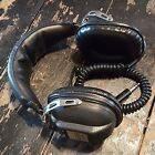 Vintage Futura Stereo headhones 563-544 Made in Japan Left Right Audio Volume