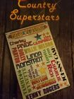 Country Superstars; Instant Play for Organ, Piano, Guitat, Vocal (1980, PB)