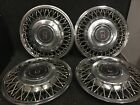 Oldsmobile Ninety Eight Eighty Eight Hubcaps Wheel Covers 89 90 91 14 Set 4104