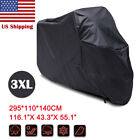 3XL Waterproof Motorcycle Cover For Harley Davidson Street Glide FLHX Touring US