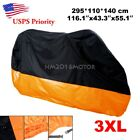 XXXL Waterproof Motorcycle Cover For Harley-Davidson Ultra Classic Electra Glide