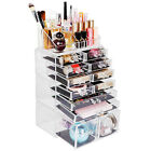 Acrylic Organizer Drawer Clear Cosmetic Makeup Case Jewelry Storage Holder Box