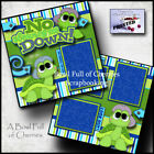 Disney Winnie The Pooh 2 premade scrapbook pages layout paper piecing By Cherry