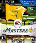 Sony PlaysStation 3 Tiger Woods PGA Tour 12 The Masters Brand New Factory Sealed