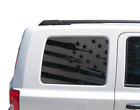 Distressed Flag Decal for Jeep Patriot Window USA American 2011 2017 JP6