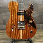 Rukavina T Model Tele Style Guitar Chambered Sapele Top