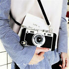 Retro 3D Camera Style Shockproof Phone Case Cover For Apple iPhone 7 6 Plus 5