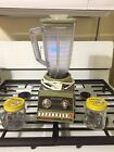 Vintage 1970's Osterizer Cyclomatic Imperial  Blender - Nice Condition W Extras