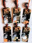 Set of 6 Hang Tags Halloween Chills  Thrills Gift Tags Scrapbooks Cards 121R