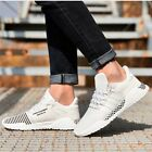 Light Outdoor Sports Mens Running Shoes Lace Up Training Sneakers Breathable
