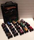 Hot Wheels Monster Jam 164 Scale Monster Trucks With Storage Case Lot Set Of 15