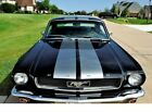 Mustang PONY INTERIOR 1966 Ford Mustang PONY INTERIOR 5000 Miles Black Coupe V8 57L Automatic