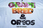 Staple GRAPE BRED  OREOS SNEAKER KICKS Food For Thought White Mens Tee 2XL XXL