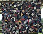 Antique Crazy Quilt Top