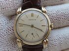 VINTAGE ZENITH FANCY LUGS MANUAL CAL.106 S/S&GOLD PLAQUE 40 MICRON,31mm SERVICED