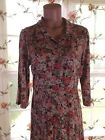 Cath Kidston~Floral Print~1/2 Sleeves~Mother Pearl Butttons~Women's Plus Size 14