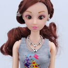 Doll Jewellery Queen Dressy Nec klace Pendant For Barbie Doll Accessories