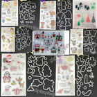 Metal Cutting Dies Rubber Stamp Stencil Scrapbooking Card Paper Embossing Craft