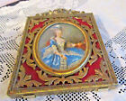Vtg. ACTION Ornate Small Brass Picture Frame Made in Italy 4