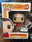 Funko Pop Mister Rogers #635 Barnes & Noble Exclusive with Hand Puppet *Damage*