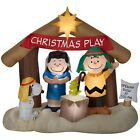 Charlie Brown Christmas Nativity Scene Inflatable Display Outdoor Lawn Decor NEW