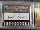 2010 RAZOR SPORTS ICONS ISIAH THOMAS PAUL ARIZIN AUTO 1 3