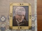 NICE Vintage Art Deco era Reverse Painted Glass Picture Frame fits 9 x 7