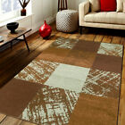 Area Rugs Contemporary Geometric Carpet Made in Turkey Color and Size Options