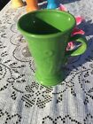 FIESTA NEW PEDESTAL MUG SHAMROCK green LARGE COFFEE MUG 18 oz. Fiestaware