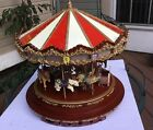 MR CHRISTMAS ROYAL MARQUEE GRAND CAROUSEL MUSIC 203044.  🎡🎡🎡