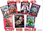 2018 Garbage Pail Kids The HORROR IBLE PICK A SINGLE RED Sticker Nm Mint