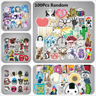 100 MIXED RANDOM STICKER DECAL CAR ATV BIKE RACING HELMET MOTORCROSS HOME GAME