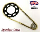 Yamaha XV250 S Virago Heavy Duty GOLD Chain and Sprocket Kit '95-08