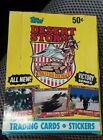 TOPPS DESERT STORM VICTORY SERIES BOX 36 PACKS CARDS AND STICKERS
