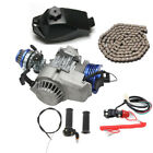 47 49 50cc Complete Engine Mini Motor Dirt Bike Quad Scooter Bicycle Go kart kit